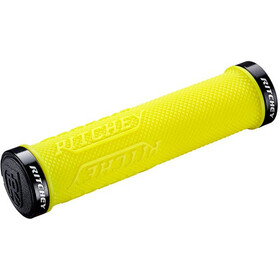 Ritchey WCS True Grip X Kahvojen pitokumit Lock-On, yellow